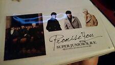 Super junior k.r.y promise you official goods sticker sheet Kpop K-pop