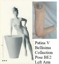 Patina V Mannequin Vintage Left Arm for Bellisima Collection Pose Be2