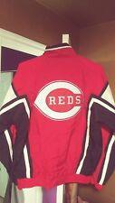Vintage Cincinnati Reds Throwback Windbreaker Starter Jacket Large Nice!