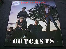 OUTCASTS SAME LP VINYL & COVER ALL Nr MINT N Irish PUNK BAND 1st Press Mega-Rare