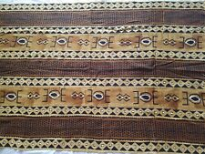 """Authentic African Handwoven Mud Cloth Fabric From Mali West Africa sz 63 by 42"""""""