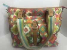 LILY BLOOM Retro Floral Shoulder Bag Purse Handbag