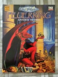 D&D - The Planes: Feuerring Gateway To Hell SC NEW RPG d20 Dungeons and Dragons