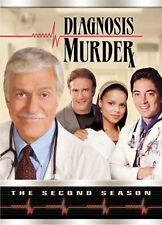 Diagnosis Murder - The Second Season DVD, Dick Van Dyke, Barry Van Dyke, Victori