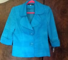 Ladies Turqoise Jacket