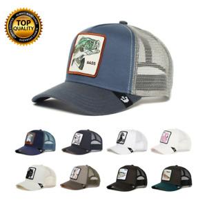 HOT Goorin Bros Animal Farm Trucker Mesh Baseball Hat Snapback Cap Hip Hop Men