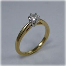 0.33 carat Diamond Solitaire Ring in 18ct Gold