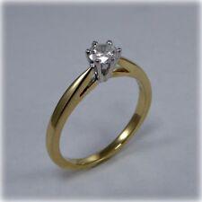0.33 carat Diamond Solitaire Ring in 18 carat Gold