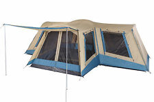 OZtrail Family Dome Tent 12 Person 4 Room Camping Hiking Camp Travel Outdoor