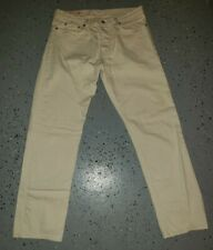Apolis Straight Leg Jeans Natural 34 Off white