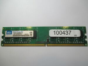 1GB DDR2-800MHz PC2-6400 DESKTOP RAM. TEAM GROUP  B980202XXX