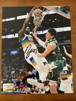 Zion Williamson New Orleans Pelicans Duke Signed Autographed 8x10 Photo W/COA
