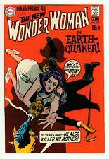 WONDER WOMAN #187 FN+ 6.5 NEW NO COSTUME COMIC 1970