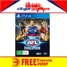 AFL Evolution PS4 Game New & Sealed Free Express Post In Stock Free Express Post