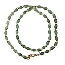 Different Coloured Crystal Bead Necklace Plastic Chain Jewellery – Beaded Chain