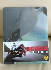 Mission Impossible Rogue Nation Blu-ray Steelbook, Korea version, Sealed/Mint