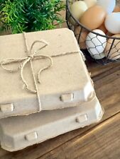 Henlay Vintage Square Style Egg Cartons 75bundle