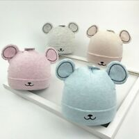 Newborn Baby Toddler Girls Boy Warm Hat Winter Beanie Hat Cute Ears Plush Cap