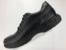 Rockport World Tour Elite Oxford Shoes Black Leather Casual Comfort Mens Sz 9 W