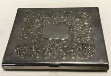 Vintage Godinger Decorative Silver Plated Card Holder Art Decor