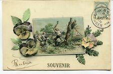 CPA - Carte Postale - Fantaisie - Souvenir - 1911 (M7903)