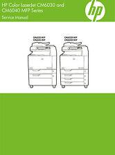 HP Color Laserjet CM6030 CM6040 and CM6040 MFP Series - Service Manual PDF