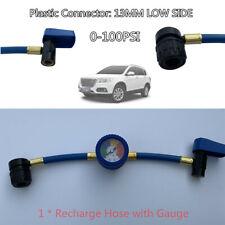 30mm R-134a Recharge Refrigerant Hose Car Auto Air Conditioning Pressure Gauge