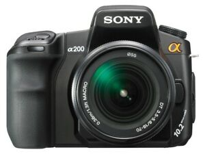 Sony Alpha DSLR A200 Digital Camera + 18-70mm Lens