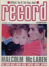 Malcolm McLaren Tina Turner Marc Almond Herbie Hancock Michael Jackson mag