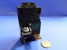 BULL DOG ELECTRIC PUSHMATIC CIRCUIT BREAKER P120 20 AMP 1P 120/240 V.A.C. *PZB*