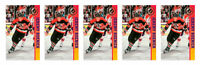 (5) 1993 Ballstreet Jeremy Roenick Hockey Card Lot Chicago Blackhawks