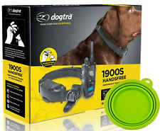 Dogtra 1900S HANDS FREE Remote Stubborn Dog Trainer Collar 3/4 Mile Rechargeable