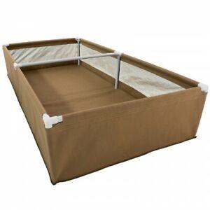 Grassroots Fabric Raised Garden Bed (4'x8') - Outdoor & Indoor Vegetables/Fruits