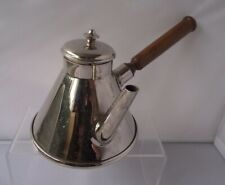 Mauviel France French Stainless Steel Coffee Pot With Wood Handle kettle
