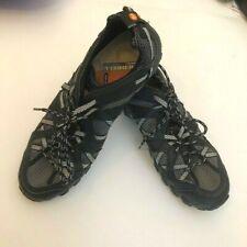 Merrell Waterpro Maipo Hiking Water Shoes, Men's Size 10 Black/Gray J80053