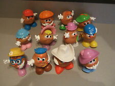 EXTREMELY RARE  SET OF 12   MCDONALD'S POTATO HEAD KIDS   1987 LOLLY MISSING HAT