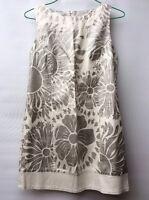 Vestido De Blanco Talla 38  Sisaa Sisa 48