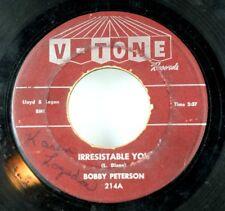Bobby Peterson - Soul 1st Press V-Tone Maroon Label - Piano Rock  V1