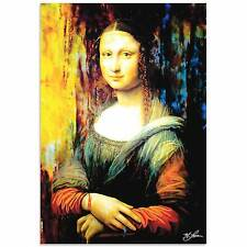 Pop Art 'Mona Lisa Ageless Charm' -Ltd. Ed. Giclee Contemporary Artwork on Metal