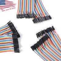 3 x 40Pin 20cm DuPont 1P-1P Wire Jumper Cables Pin-Pin Pin-Socket Socket-Socket