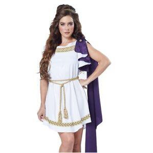 Adult Womens Greek Roman Toga Dress Outfit Costume