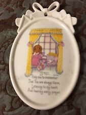 Lord Help Me To Remember Cherished Sentiments Porcelain Plaque