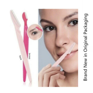 AVON WORKS Face & Brow Shavers Pack of 2 Dermaplaning Hair Removal **FREE P&P**