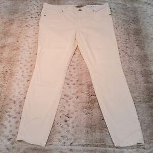 Ann Taylor Loft Cream Soft Stretchy Petite Legging Size 8P
