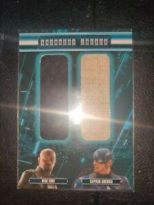 Nick Fury & Captain America/Avengers Age Of Ultron/Costume Locker Card  AL2-NC