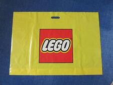 5 Lego Tragetaschen/Plastiktüten/Tüte, 87x60cm gelb, NEUWAREN