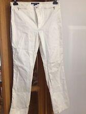 Ralph Lauren Golf - White Cotton Trouser Size 14
