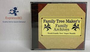 (HE) Family Tree Maker: Archives World Family Tree Super Bundle Vol 3-7 (5 CD's)