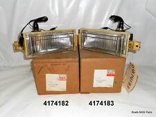 NOS MoPar 1981-1983 Chrysler Cordoba PARK LAMP ASSY PAIR  pns 4174182 4174183