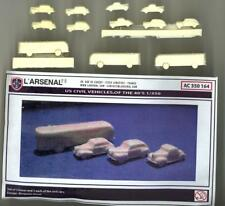 L'Arsenal Models 1/350 U.S. COMMERCIAL TRUCKS OF THE 1940s (12) Resin Set